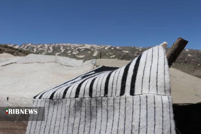 ارتفاعات کوه کینو محل ییلاق عشایر