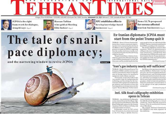 The tale of snailpace diplomacy: